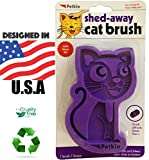 Petkin Shed-Away Cat Brush Cats Love It