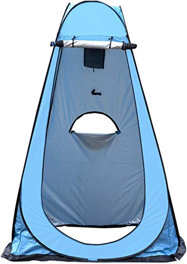 ZKU Pop Up Tent – Automatic Instant Tent Toilet Bath Shower Storage Tent Bag Camping Changing Portable Toilet Beach for Camping, Backpacking, Hiking Outdoor Music Festivals 3-5people