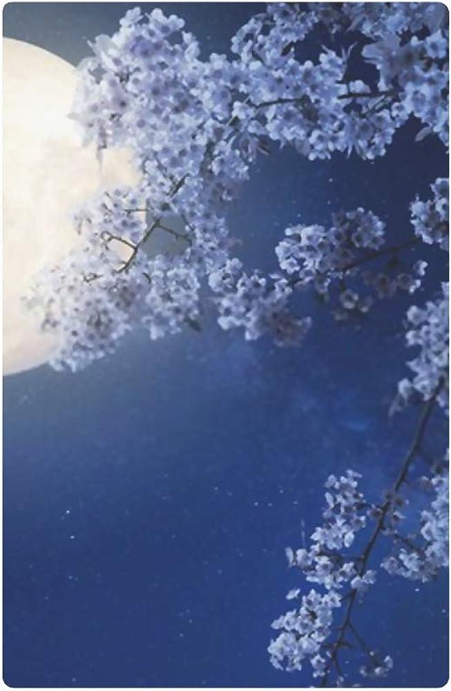 Womens Walle Beautiful Cherry Blossom Sakura Flowers Milky Womens Wallets Travel Trifold Wallet Multi Card Organizer Wallet For Women Blocking Purse