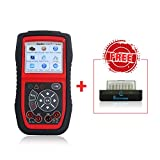 Autel Autolink Al539b Diagnostic Tools OBDII Code Reader With Electrical System Test and Battery Test Functions Update via PC