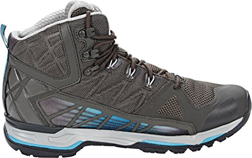 The North Face M Ultra GTX Surround Mid, Men's Walking Shoes Beluga Grey/Algiers Blue