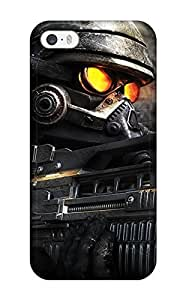 Iphone 5/5s Case Cover - Slim Fit Tpu Protector Shock Absorbent Case (killzone)