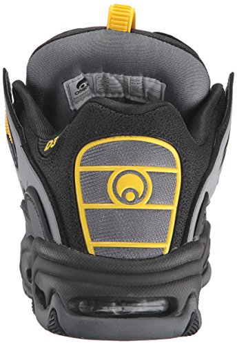 OSIRIS Skateboard Shoes D3 2001 BLACK/YELLOW/CHARCOAL