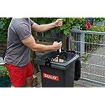 Broniks-Pressa-per-rifiuticompattatore-per-rifiuti-per-Tutti-i-bidoni-della-Spazzatura-da-60-120-l-Robusto-meccanismo-a-Pompa-con-Trasmissione-di-Potenza