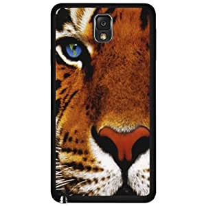 Tiger Face Close Up Hard Snap On Case (Galaxy Note 3 III)