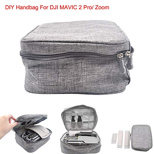 Rucan DJI Mavic 2 Pro/Zoom ドローン ポータブルキャリーストレージショルダーバッグ バックパック