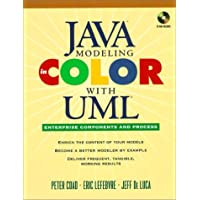 Java Modeling in Color with UML, w. CD-ROM: Enterprise Components and Process (Java Series)