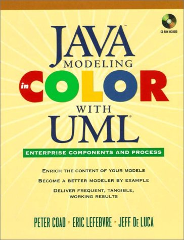 Java Modeling In Color With UML: Enterprise Components and - Color Modeling