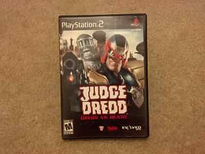 Amazon.com: Judge Dredd Dredd vs Death - PlayStation 2