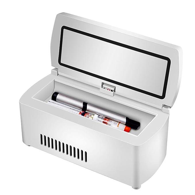 hj Congelador para Autos Mini Nevera refrigerador Tanque de ...