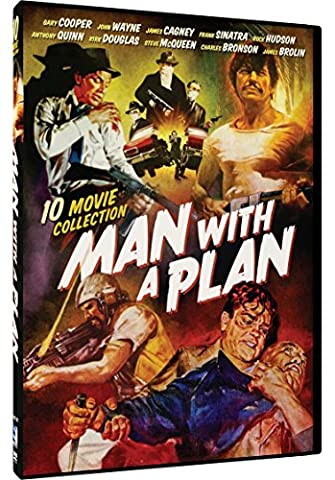 Man With A Plan Collection - 10 Movie Set: Fighting Caravans, The Man From Utah, Suddenly, The Master Touch, The Master Touch and 5 (Master Touch Dvd)