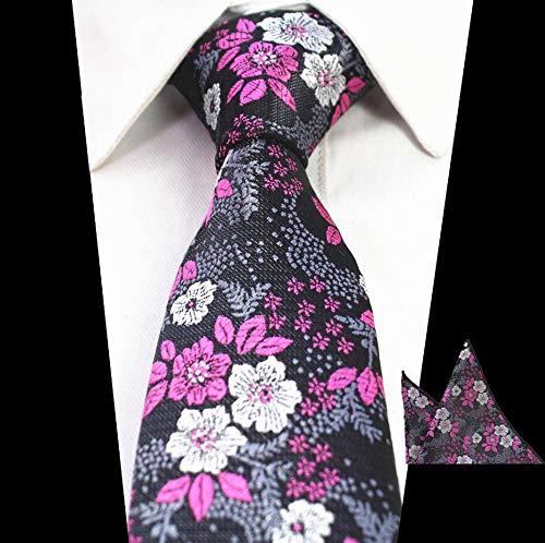 LLZGPZLD Corbata/Diseño Delicado Corbata para Hombres Floral ...