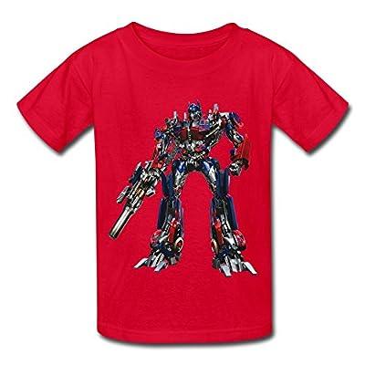 Printing Optimus Prime Transformer Kids Boys Girls Youth Tee Shirt