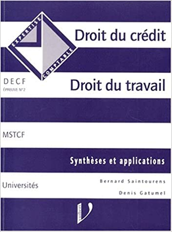 609598501aa Pdf téléchargements gratuits livres DECF EPREUVE N° 2 DROIT DU ...