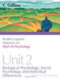 Student Support Materials for Psychology – AQA AS Psychology Unit 2: Biological Psychology, Social Psychology and Individual Differences