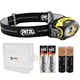 Petzl Pixa 2 (E78BHB 2UL) Headlamp - Includes 2x Energizer AA Batteries and 1 Lightjunction Battery Box