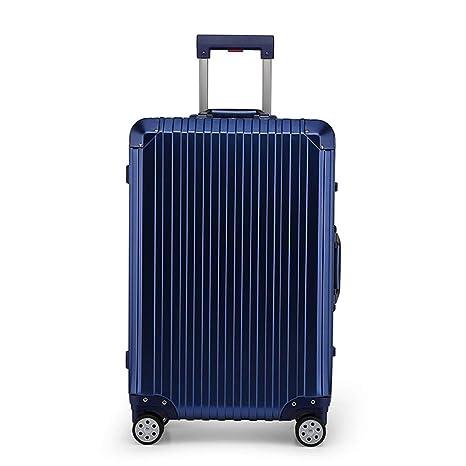 24 Pulgadas Caja de Equipaje Caja de Viaje Aleación de magnesio Marco de Aluminio Maleta con
