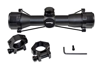 SNIPER Compact Rifle Scope 4x32 with Ring
