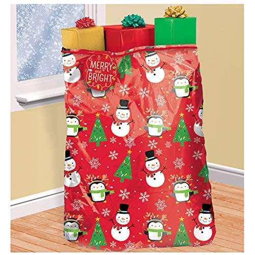 Amscan 474285 gift wrap, 44″ x 56″, Multicolored