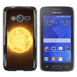 Shell-Star Arte & diseño plástico duro Fundas Cover Cubre Hard Case Cover para Samsung Galaxy Ace4 / Galaxy Ace 4 LTE / SM-G313F ( The Sun Plaanet In Space )