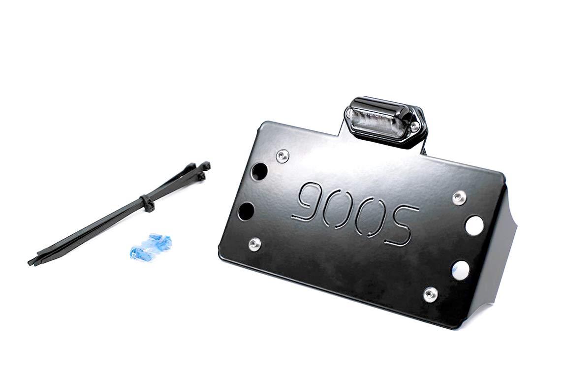 UTV INC Polaris RZR-S RZR-4 900 /& 1000 LED Illuminated Lighted License Plate Frame Holder Kit