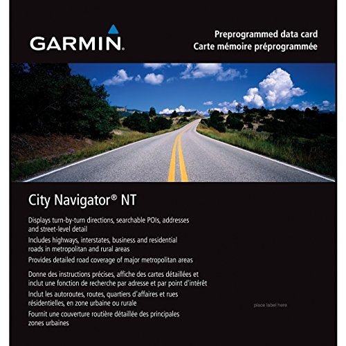 Garmin City Navigator Detailed Canada