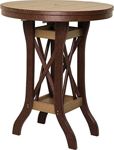 36 Wood Pub Table - Poly Lumber 42