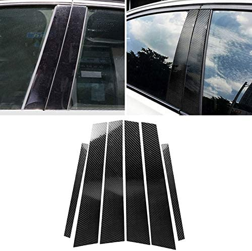 BMW F10 2011-2017の車の炭素繊維B列装飾ステッカー ハイクオリティ