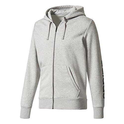 Hoodie conavy para Essentials Mgreyh hombre Linear Adidas Hoodie aqZ1ZH