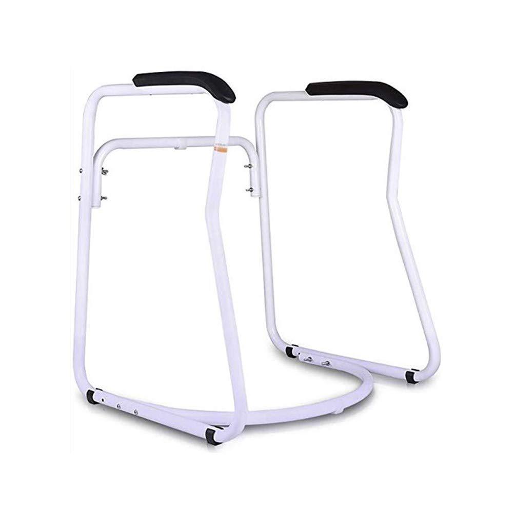 JJZXPJ Toilet Frame,Toilet Safety Rails Stand Alone with Armrest Bathroom Safety Assist Frame Toilet Seat Riser for Elderly,Senior,Handicap & Disabled (Color : A) by JJZXPJ