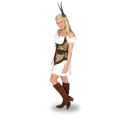Disfraz de Robin Hood - traje sexy, vestido corto entallado ...