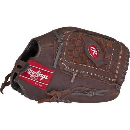 Rawlings Player Preferred Baseball Glove, Regular, Slow Pitch Pattern, Basket-Web with Support Strap, Custom Fit, 14 Inch (Pitch Inch Slow Softball 14)