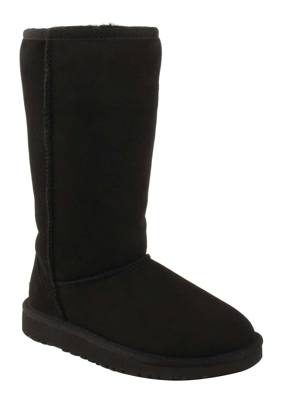 UGG Kids' Classic Tall ( Little / Big ) Black Boots 5229, US Size 3 by UGG