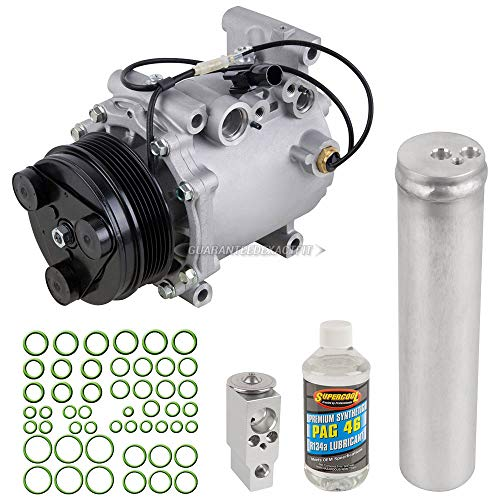 AC Compressor w/A/C Repair Kit For Mitsubishi Galant Eclipse Endeavor - BuyAutoParts 60-80352RK New ()