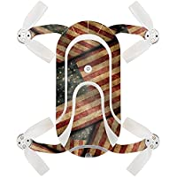 Skin For ZEROTECH Dobby Pocket Drone – Vintage American | MightySkins Protective, Durable, and Unique Vinyl Decal wrap cover | Easy To Apply, Remove, and Change Styles | Made in the USA