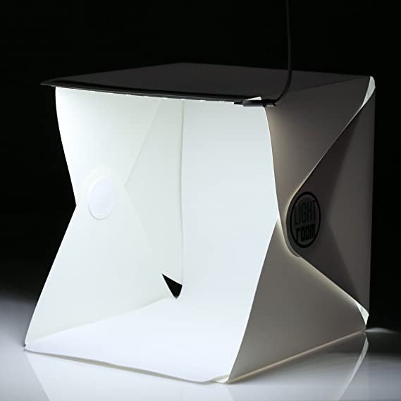 Cisixin Photo Light Box Light Tent with Black and White