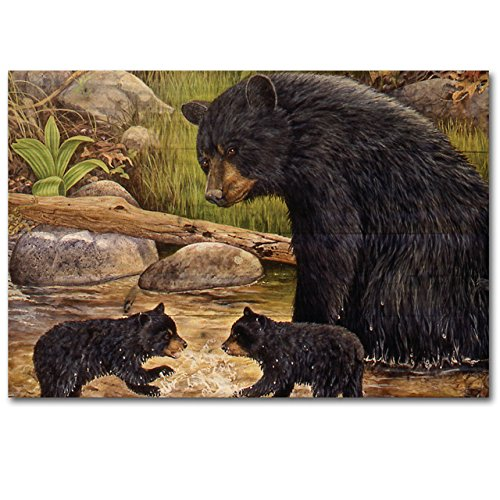 WGI Gallery WA-BCG-128 Bear Creek Gang Wall Art