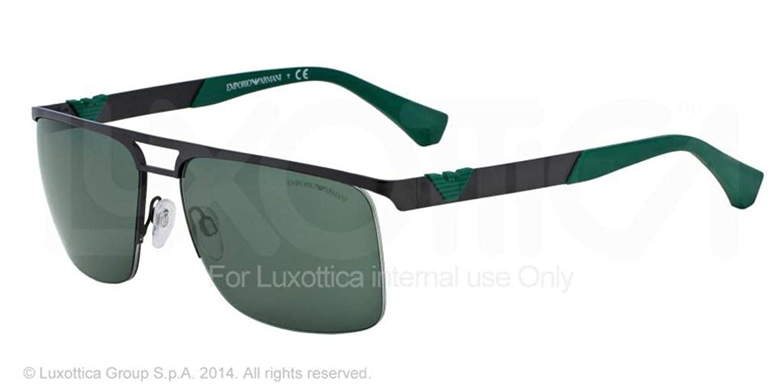 Emporio Armani EA2014 gafas de sol, Negro (Matte Black ...