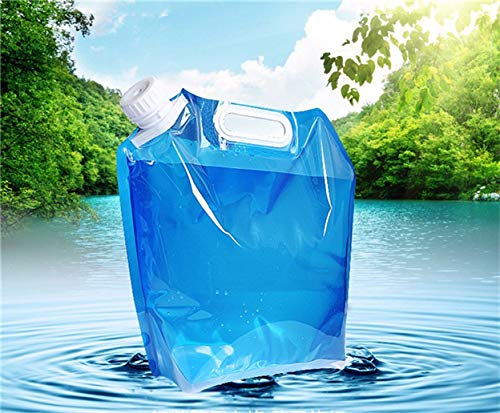 Life Style Blue Color Soft Folding Water Bags Sports FDA Drinking Water Storage Bag