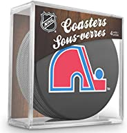 Sher-Wood Hockey NHL Quebec Nordiques Official Coaster