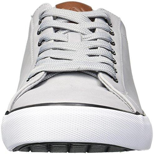 Marc New York Di Andrew Marc Mens Sneaker Glenmore Grigio / Bianco / Nero / Castagna