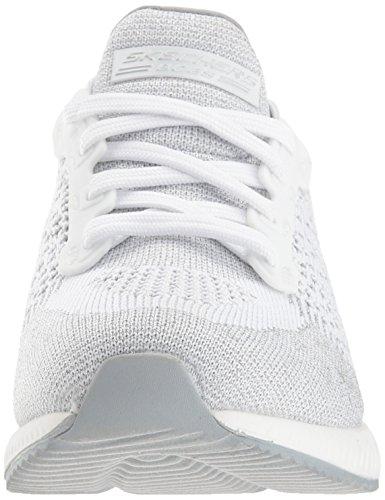 Skechers Damen Bobs Squad-Hot Spark Slip On Sneaker White