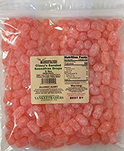 Claeys Sanded Candy Drops, Sassafras, 2 Pound