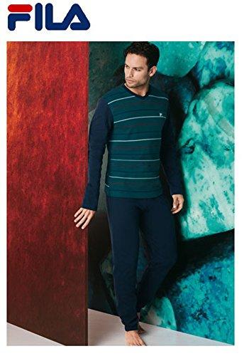 selezione premium colore attraente comprare popolare Fila PIGIAMA UOMO INVERNALE ART F05N5 IN CALDO COTONE COLORE ...