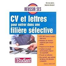 Reussir cv et lettres.. filiere select.