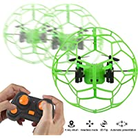 Dazhong 2.4GZ 4CH Mini RC Quadcopter with 6-Axis gyroscope Headless Mode Green/Orange drone for Bignners