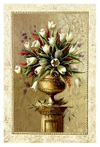 """Global Gallery """"Welby Spring Blossoms II"""" Unframed Giclee on Paper Print, 36"""" x 24"""""""