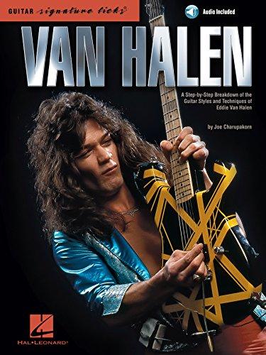 Signature Licks Video - Van Halen - Signature Licks: A Step-by-Step Breakdown of the Guitar Styles and Techniques of Eddie Van Halen (Guitar Signature Licks)