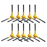 Dinghosen 10 pcs 3-armed Nylon Replacment Spining Side Brushes for Ecovacs DEEBOT N78 M85 M88 M80 Pro M81 R95 SLIM2 Robotic Vacuum Cleaner