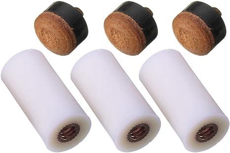 13 mm puntas de palo de billar de repuesto de billar screw-on ...
